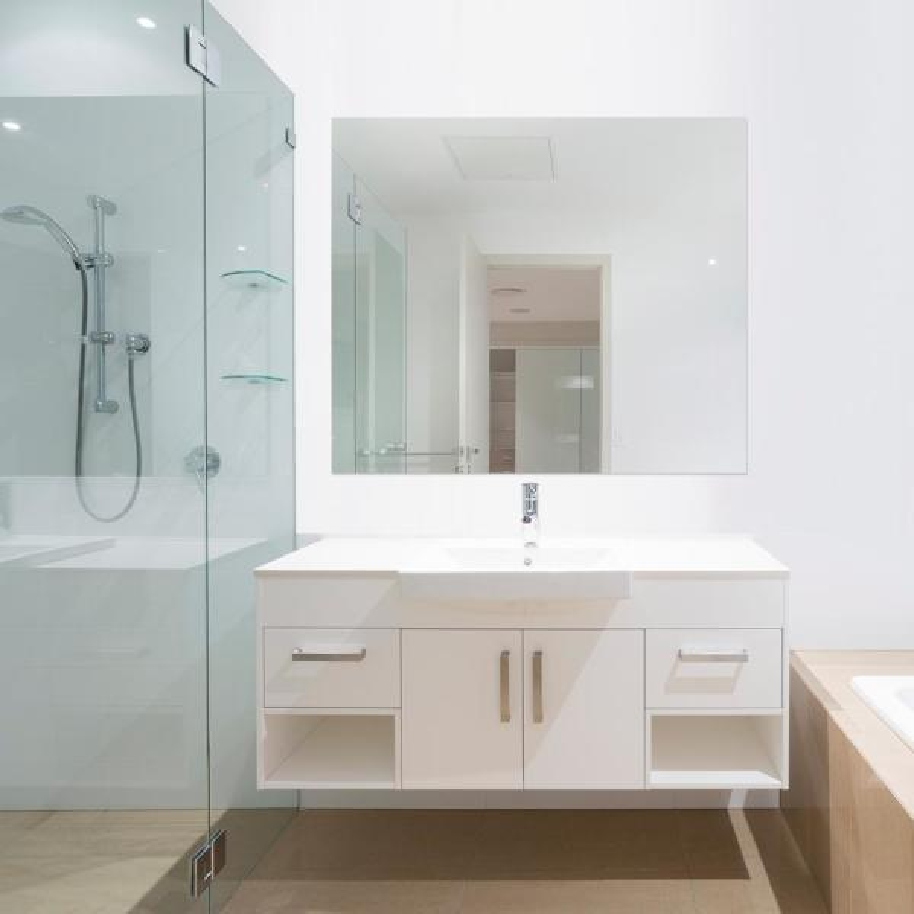 Glacier Bay 36 In W X 42 H, Rectangular Bathroom Mirror