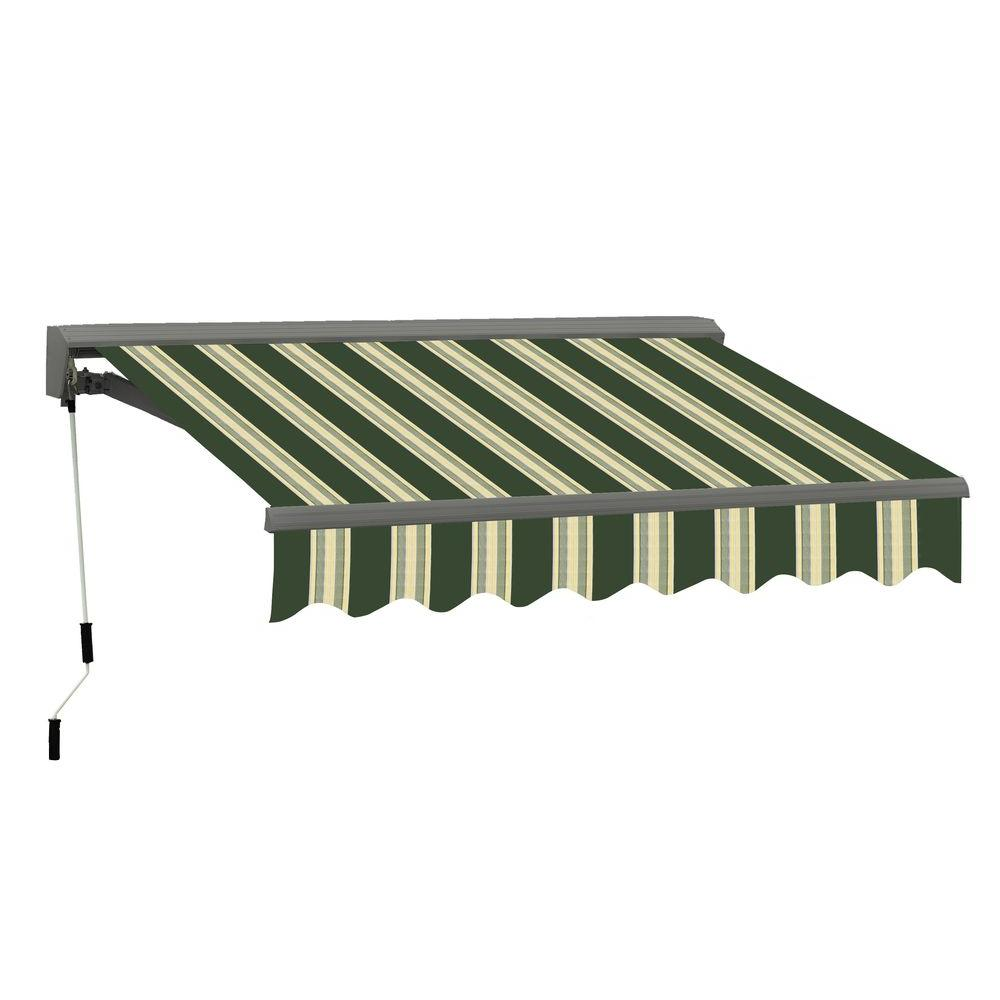 Good Classic C Series Semi Cassette Manual Retractable Patio Awning (79