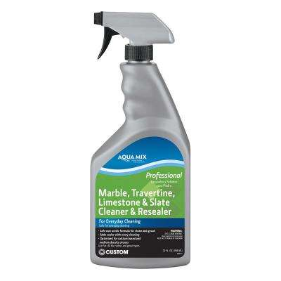 Aqua Mix 1 qt. Marble, Travertine, Limestone and Slate Cleaner and Resealer