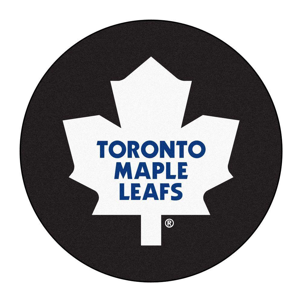 Fanmats Toronto Maple Leafs Black 2 Ft 3 In X 2 Ft 3 In