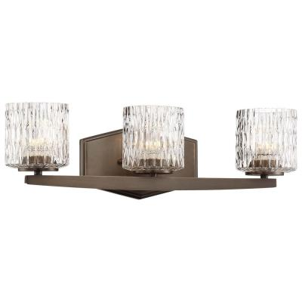 Maginot LED Harvard Court Bronze Integrated LED Bath Light