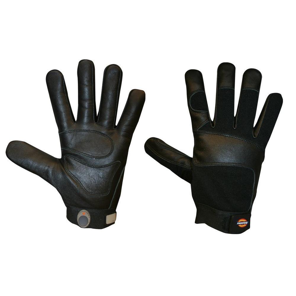 Dickies Extra Large ToughTask Black Grain Goatskin Activity Glove