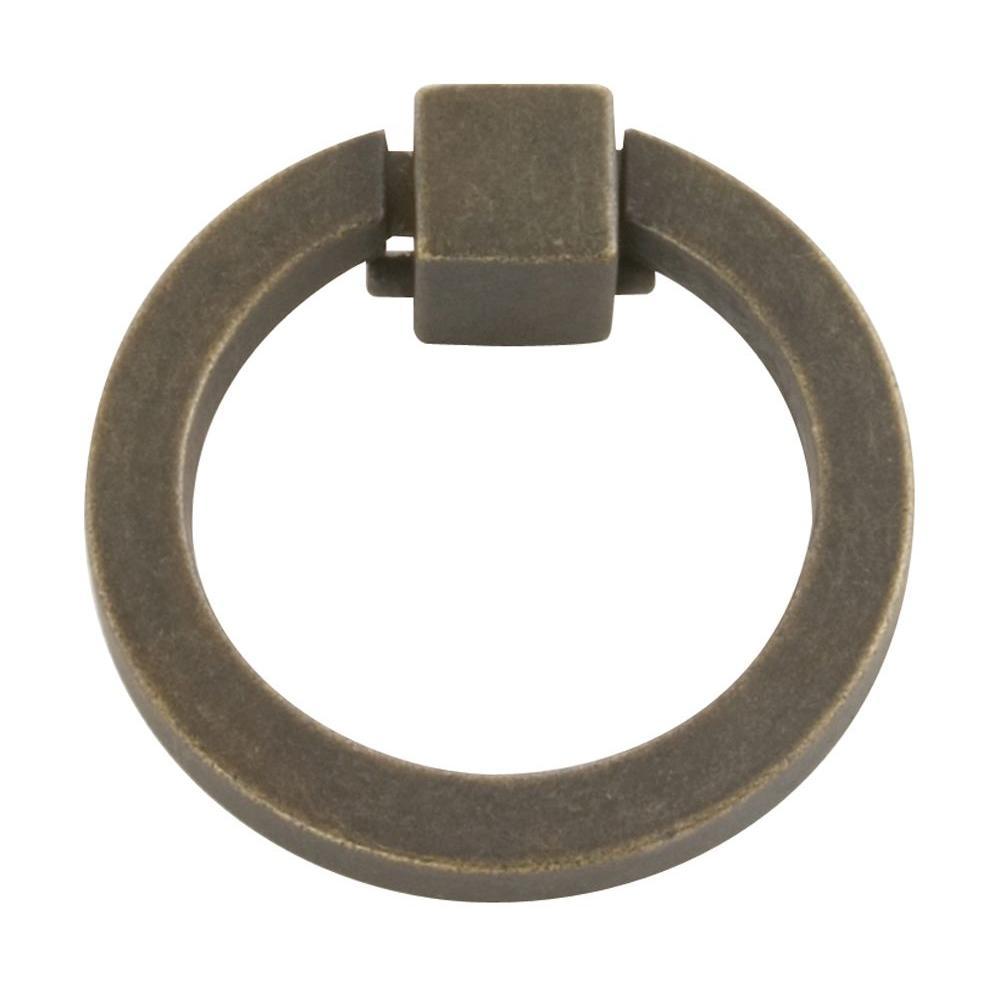 Hickory Hardware Camarilla 2-1/16 in. Windover Antique Ring Pull
