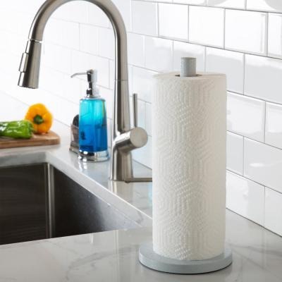 Speckled Paper in White Towel Holder