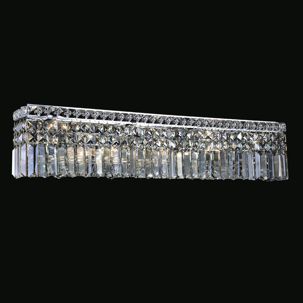 Colosseum 7-Light Chrome Sconce