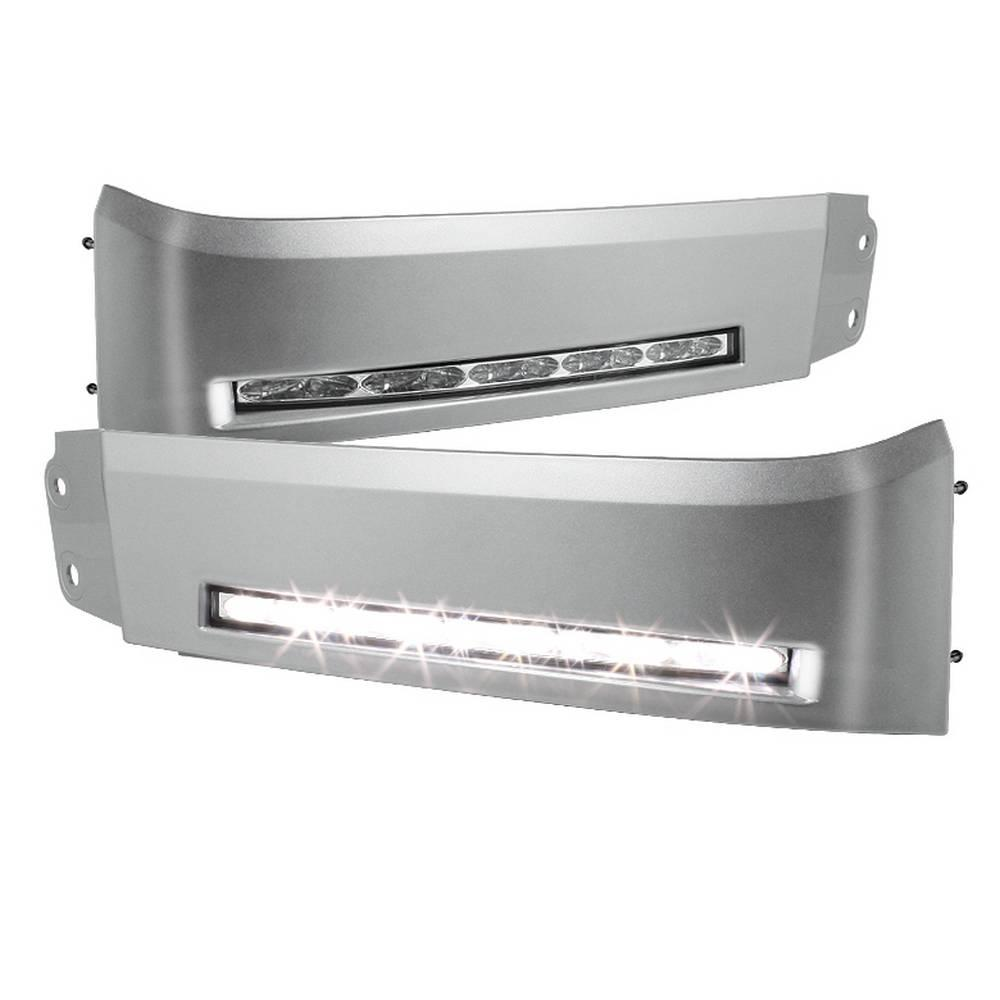 Spyder Auto Toyota Tundra 07-13 Daytime LED Running Lights ( XSP-X Model  Look )wo/switch - Silver