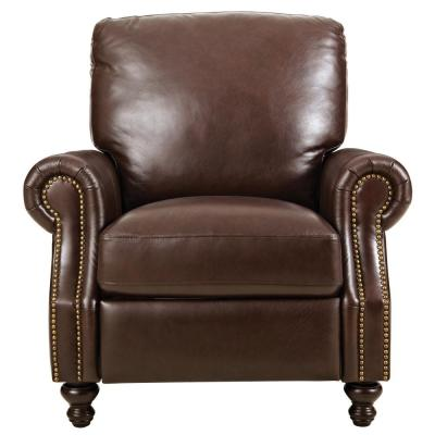 Marco Chocolate Leather Recliner