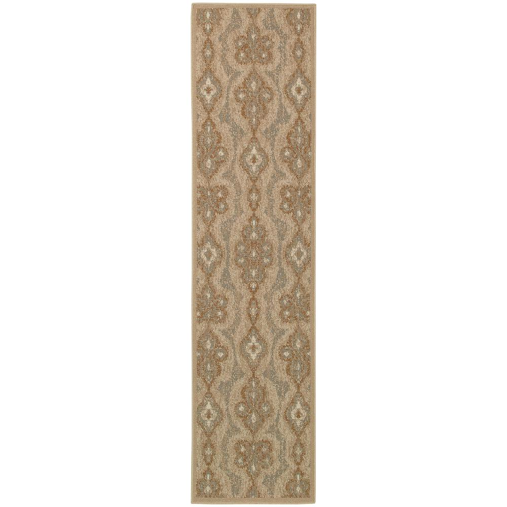 Home decorators collection vintage beige 1 ft 1in x 7 ft 6 in runner 1359460420 the home depot - Vintage home decorating collection ...