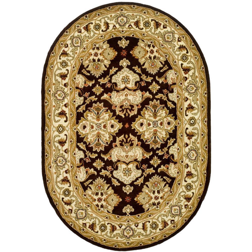 Safavieh Heritage Black Ivory 7 Ft 6 In X 9 Ft 6 In