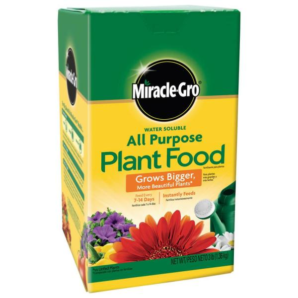 3 lbs. Water Soluble All-Purpose Plant Food
