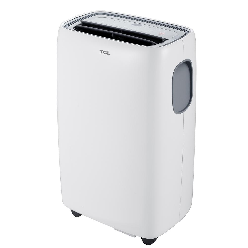 tcl  btu  btu sacc portable air conditioner  white tpccka  home depot