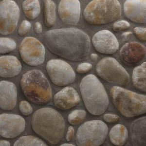 Veneerstone River Rock Mendocino Flats 10 Sq Ft Handy