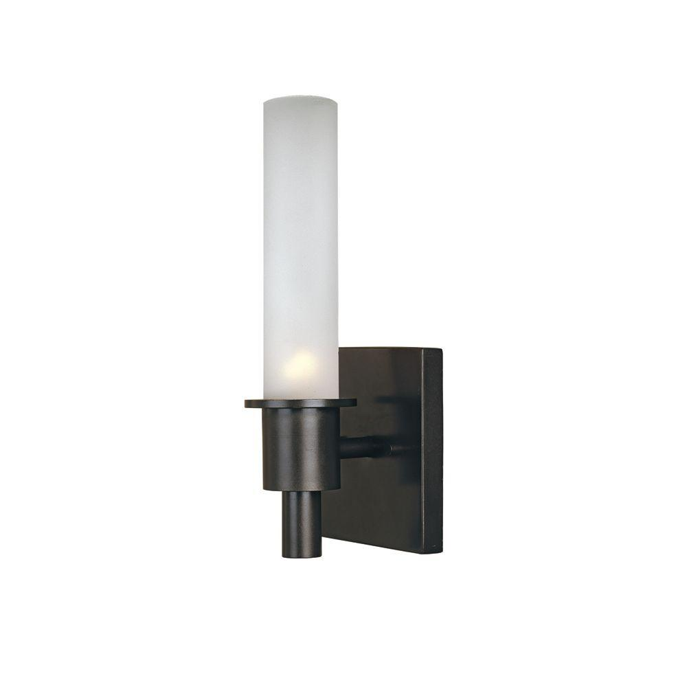 World Imports Luray 1-Light Oil Rubbed Bronze Bath and Vanity Fixture
