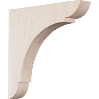 1-3/4 in. x 10 in. x 10 in. Walnut Large Olympic Bracket