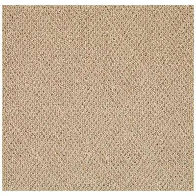 Shoal Cane Wicker Natural 10 ft. x 10 ft. Square Area Rug