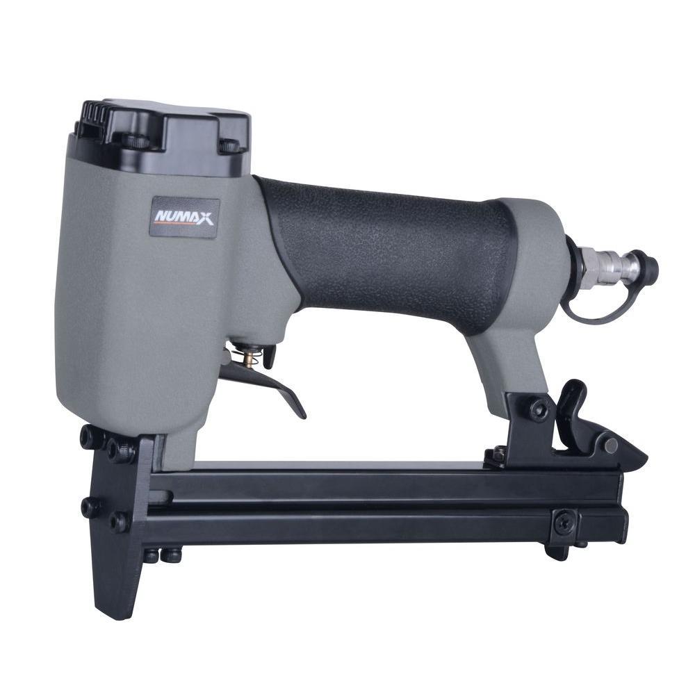 Numax Pneumatic 22 Gauge 3 8 In Crown Upholstery Stapler Sc22us