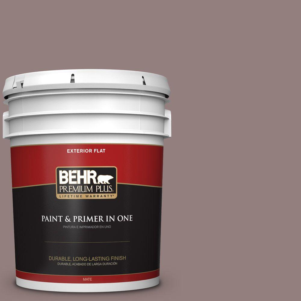 5-gal. #730B-5 Warm Embrace Flat Exterior Paint