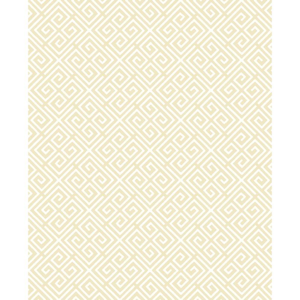 A-Street Omega Gold Geometric Wallpaper Sample 2625-21860SAM