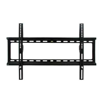 32 in. x 70 in. Fixed Television Wall Mont in Black