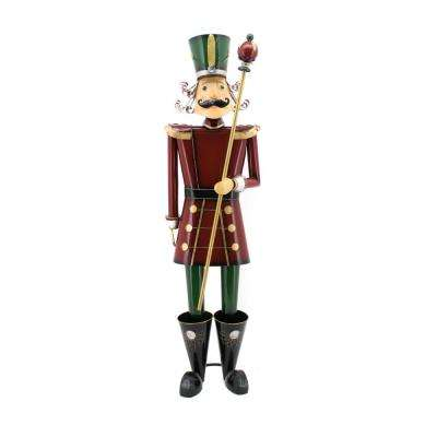 59 in. Tall Christmas Nutcracker with Baton