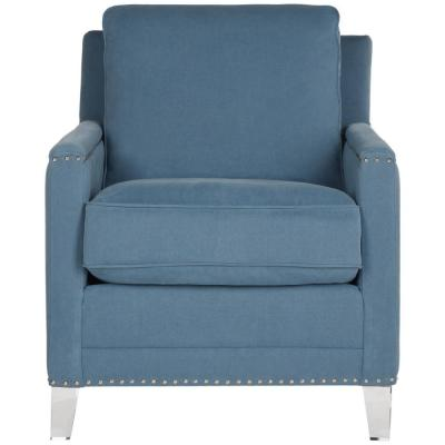 Hollywood Blue/Clear Accent Chair
