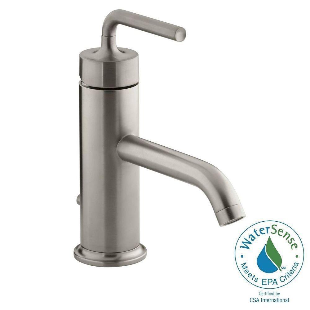 KOHLER Purist Hole Single Handle LowArc Bathroom Vessel Sink - Discontinued kohler bathroom sink faucets