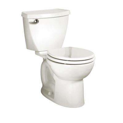 Cadet 3 Powerwash 10 in. Rough-In 2-Piece 1.6 GPF Single Flush Round Toilet in White