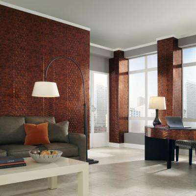 Nexus 96 in. x 48 in. Decorative Wall Panel in Bisque