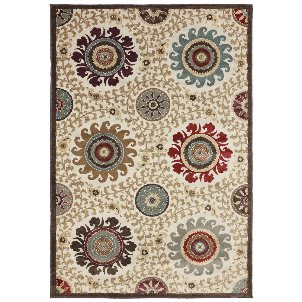 American Rug Craftsmen Sweet Wyeth Sand Storm 3 ft. 6 in. x 5 ft. 6 in. Area Rug