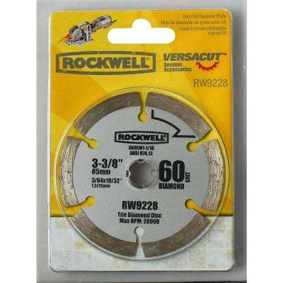 VERSACUT 3-3/8 in. Diamond Grit Blade