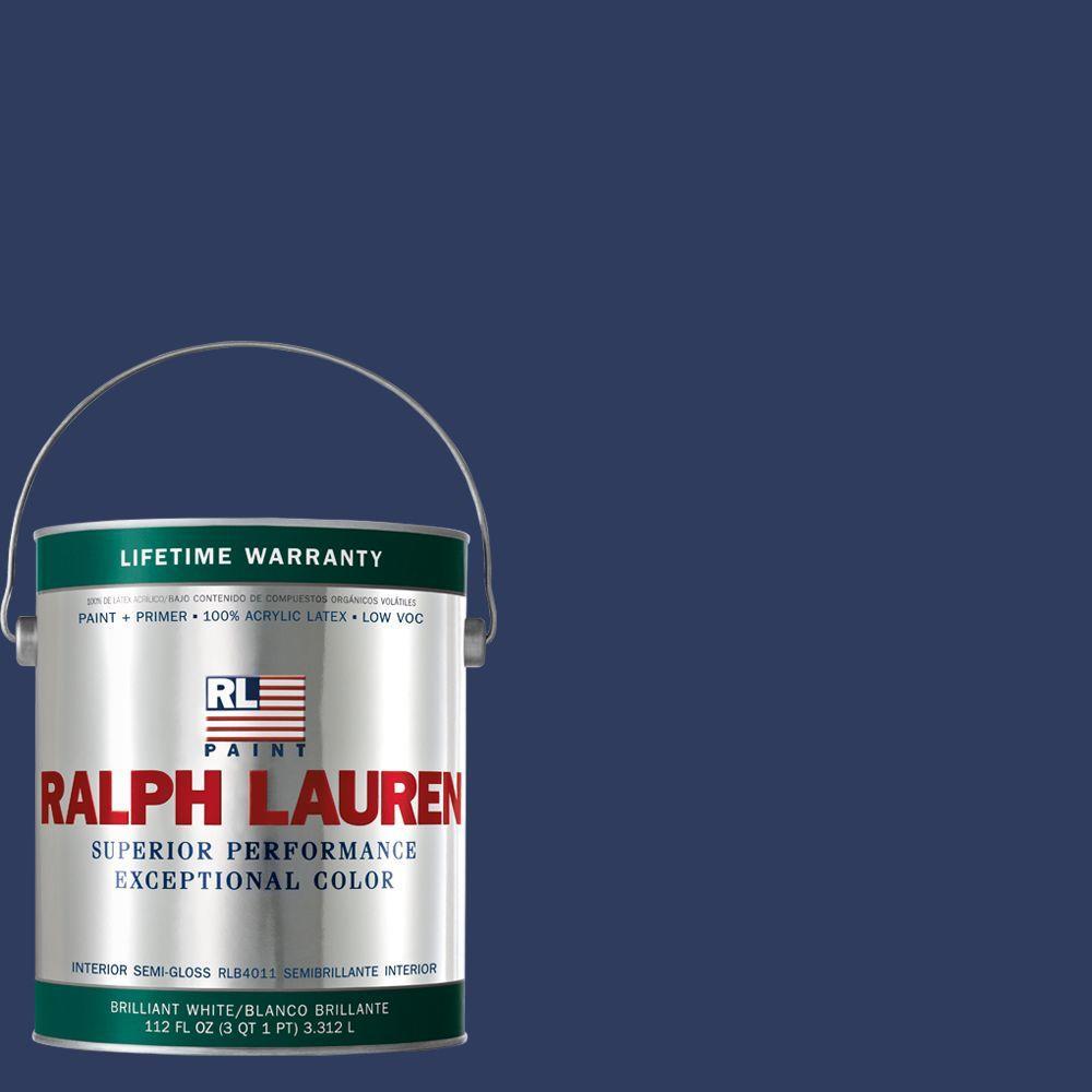 Ralph Lauren 1-gal. Arcadia Blue Semi-Gloss Interior Paint