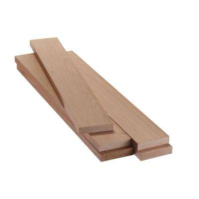 1 in. x 4 in. x 2 ft. FAS Cherry S4S Board (5-Piece/Case)