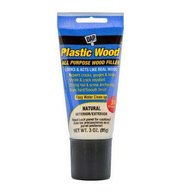 Plastic Wood 3 oz. Natural Latex Wood Filler