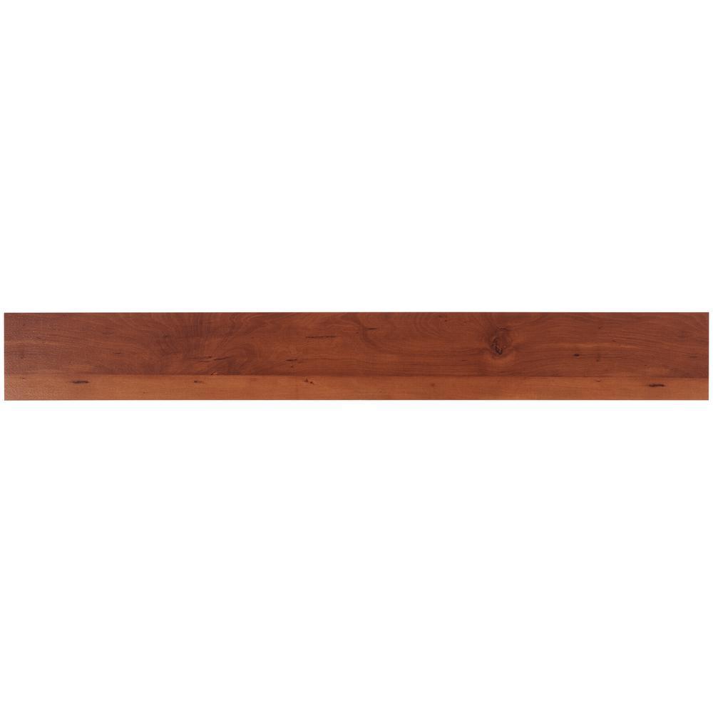 Duren 28mil American Cherry 6 in. x 48 in. Glue Down Luxury Vinyl Tile Flooring (36 sq. ft.)