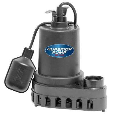 1/2 HP Submersible Thermoplastic Sump Pump