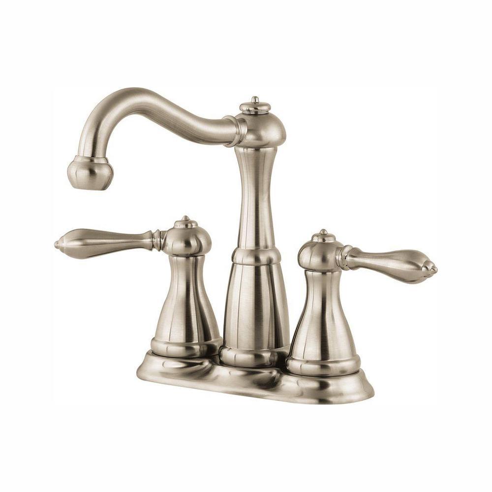 Marielle 4 in. Minispread 2-Handle Bathroom Faucet in Brushed Nickel