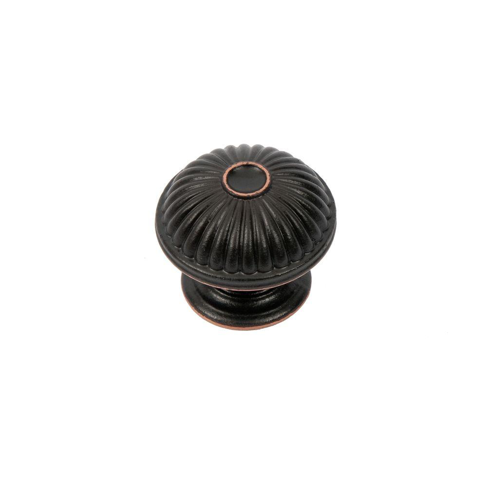 Sumner Street Home Hardware Vintage 1-1/2 in. Oil-Rubbed Bronze Round Cabinet Knob
