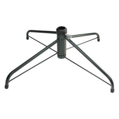 Green Metal Christmas Tree Stand for 6.5 ft. to 7.5 ft. Artificial Trees