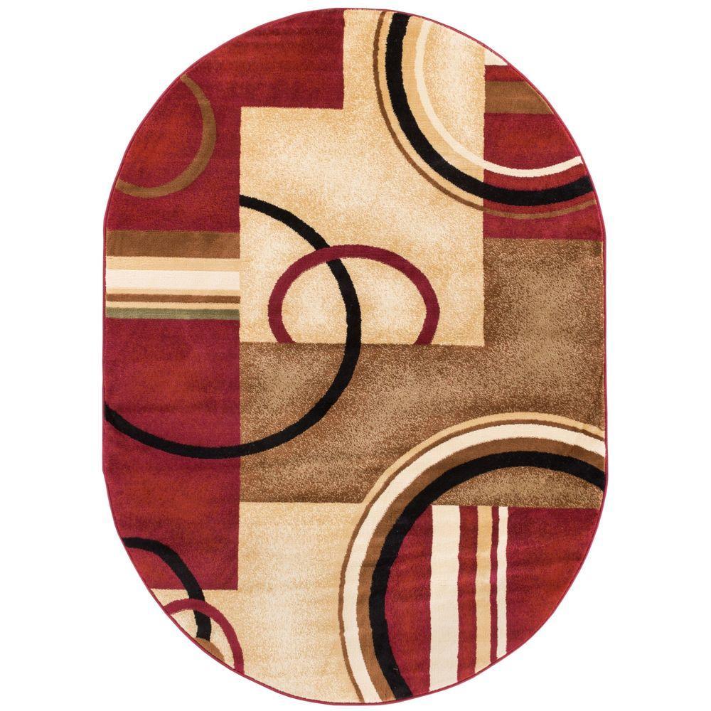 Amazoncom bathroom rugs oval