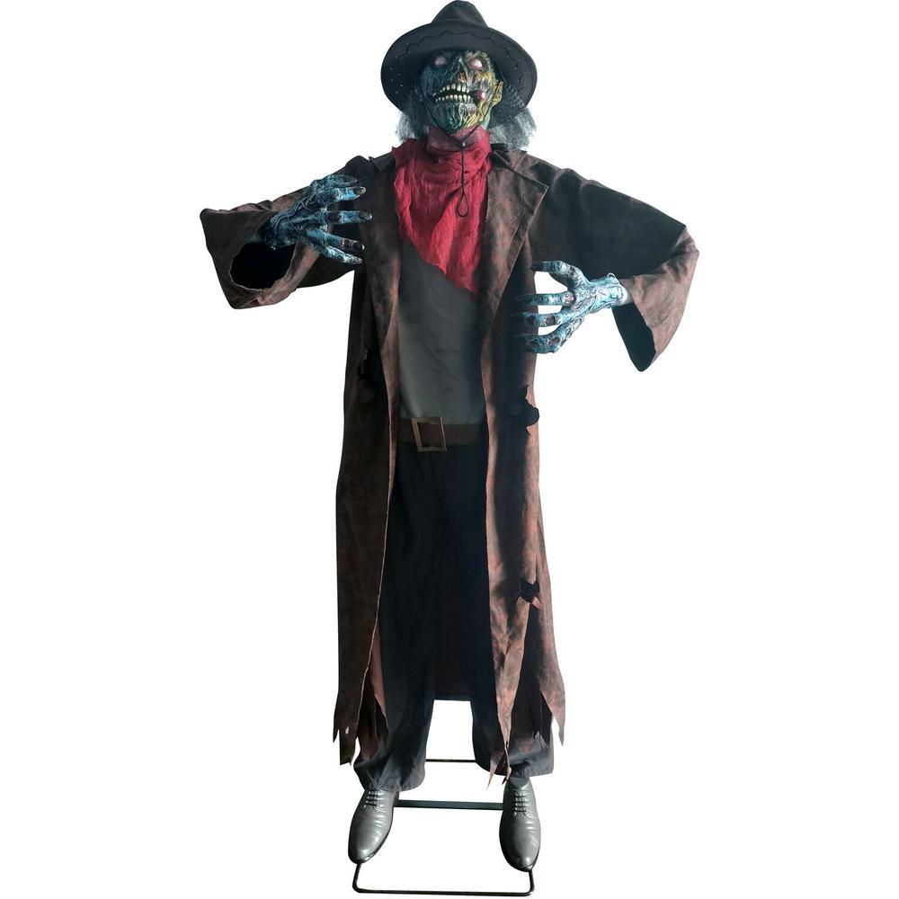 74 in. Animatronic Cowboy Zombie