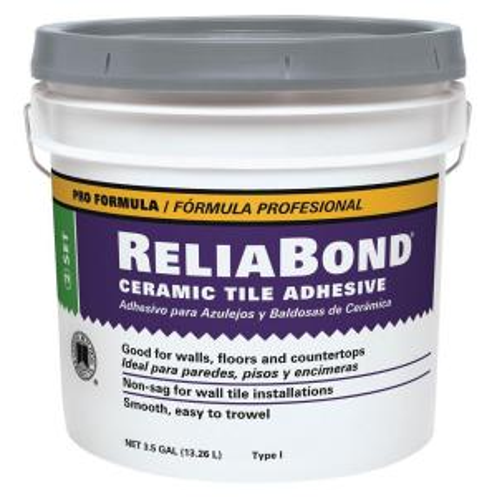 Custom Building Products Reliabond 35gal Ceramic Tile Adhesive