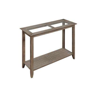 Carmel Driftwood Console Table