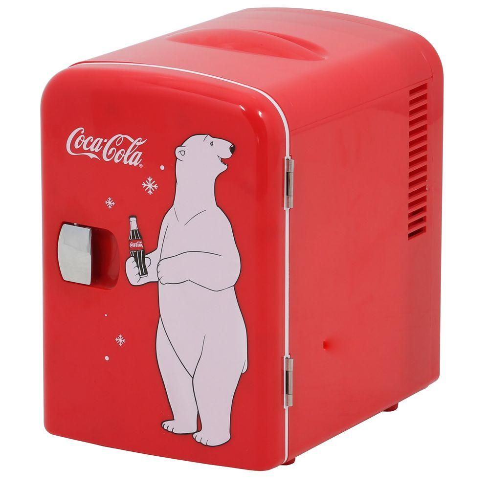 Mini Refrigerator In Red