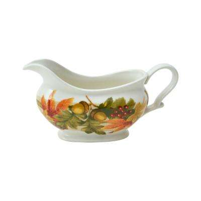 Autumn Celebration Gravy Boat