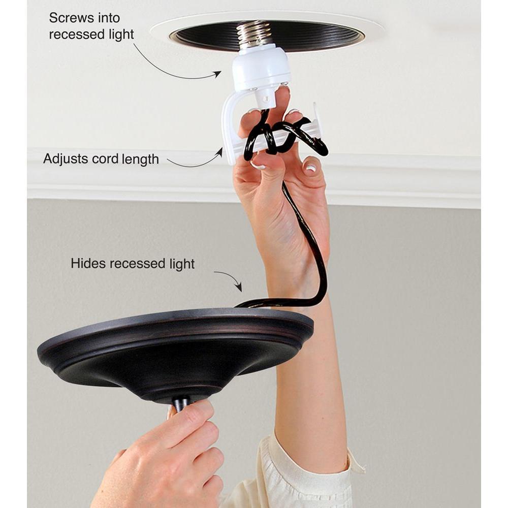 Instant Pendant 1 Light Recessed