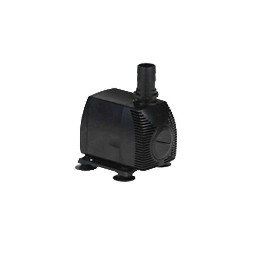 Little giant pes 1000 pw hp submersible outdoor for Pond pump placement