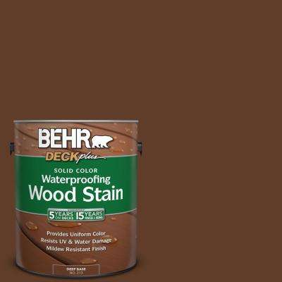 1 gal. #SC-135 Sable Solid Color Waterproofing Wood Stain
