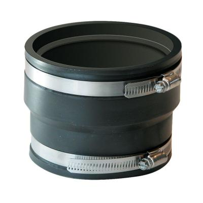 4 in. ADS and Hancor to 4 in. Flexible PVC Coupling