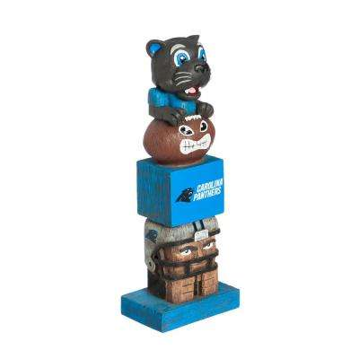 Carolina Panthers Tiki Totem Garden Statue