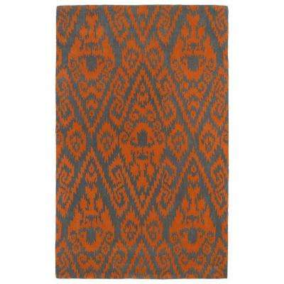 Evolution Orange 10 ft. x 13 ft. Area Rug